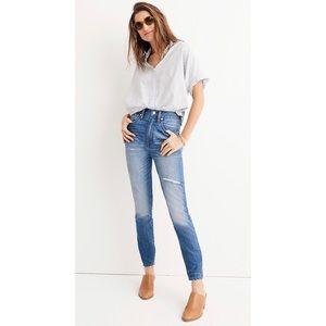 Madewell High Rise Rigid Skinny Jeans